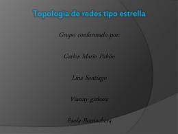 topologia de red tipo estrella