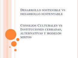 Desarrollo Sostenible vs Desarrollo Sustentable. Consejos