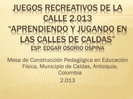 Descarga - Municipio de Caldas, Antioquia, Colombia JUEGOS