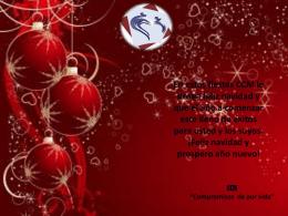 En estas fiestas CCM le desea feliz navidad y que el año a