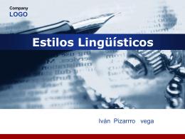 Company LOGO Estilos Lingüísticos