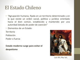 El Estado Chileno
