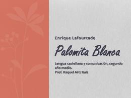 Palomita Blanca - Colegio Dario Salas