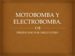 Moto Bombas y Electro Bombas