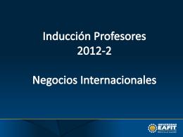 el departamento académico de negocios internacionales