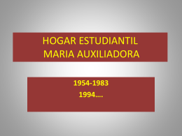 HOGAR ESTUDIANTIL MARIA AUXILIADORA