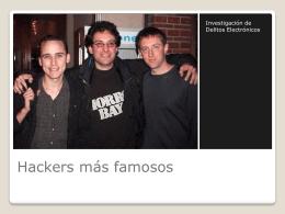 Hackers mas famosos