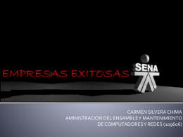 EMPRESAS EXITOSAS - SeminarioTallerFaceya