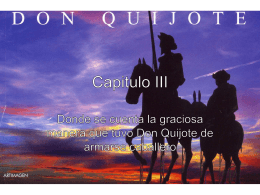 don quijote capitulo iii