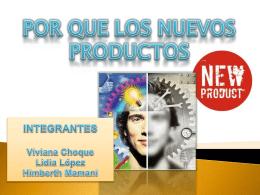grupo 3 importancia de los nuevos productos
