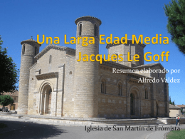 Una Larga Edad Media Jacques Le Goff