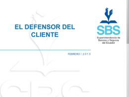 Instructivo - Superintendencia de Bancos y Seguros