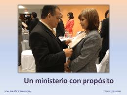 Un ministerio con propósito