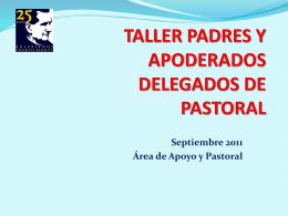 TALLER PADRES Y APODERADOS