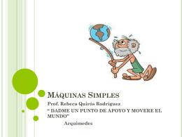 Maquinas Simples - sciencesaintpaul
