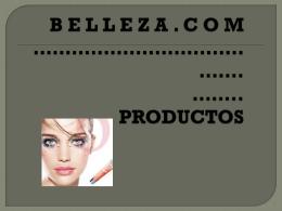 catalogo - Productos de belleza
