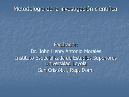 Profesor Morales