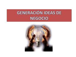 taller de generación de ideas de negocio