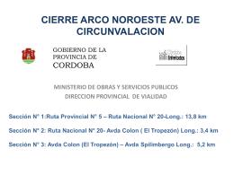 Presentación Avda De Circunvalacion.Ppt