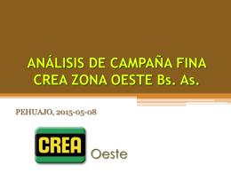 Jornadas y Talleres 11 mayo, 2015 Análisis de