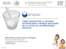 cofocalec - Micrositios DIF