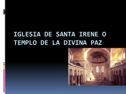 5 Iglesia de Santa irene