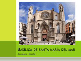 7 Basílica de santa maría del mar