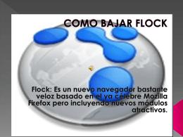 COMO BAJAR FLOCK