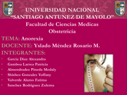 anorexia-Salud - unasam-obtetricia-II