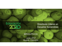 Directores Lideres - Empresarios por la Educación