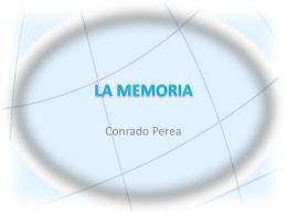 LA MEMORIA - Técnico de Sistemas Microinformáticos