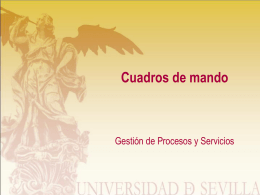 Cuadros de mando - Fundamentals of BPM