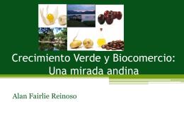 Crecimiento Verde y Biocomercio: Una mirada