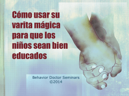 Para escapar - Behavior Doctor