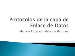 Protocolos de la capa de Enlace de Datos