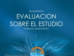 Diagnóstico. Tecnicas, Habilidades y Motivación de Estudio