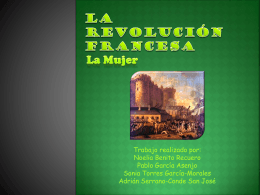 La Revolución Francesa. Mujeres.
