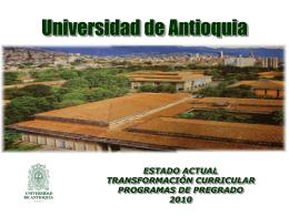 PRESENTACION TRANSFO CURRICULAR 2010