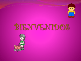 BIENVENIDOS - Liceo Infantil MI NUEVO MUNDO ENCANTADO