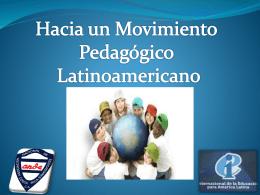 Movimiento Pedagógico - Internacional de la Educación, América