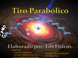 Introducción Tiro Parabólico