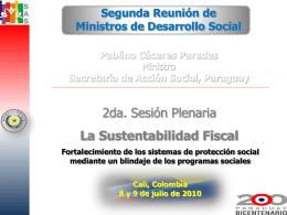 Presentación Ministro CALI COLOMBIA