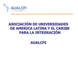 ASOCIACIÓN DE UNIVERSIDADES DE AMÉRICA LATINA Y EL