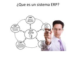 Tipos de ERP que podrás encontrar