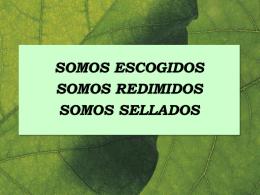 EFESIOS 1: ESCOGIDOS, REDIMIDOS Y SELLADOS