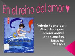 En el reino del amor  - Lengua catellana y Literatura 2º ESO B