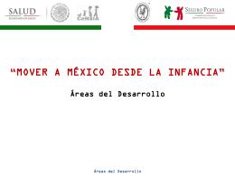 Áreas del Desarrollo - Hospital Infantil de México Federico Gómez
