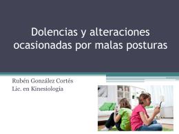 postura - Colegio Fenix