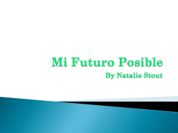 Mi Futuro Posible - WLWV Staff Blogs