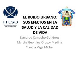 EL RUIDO URBANO: LA MEDIACION PSICOLOGICA Y